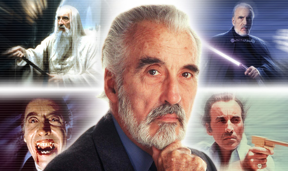 Christopher Lee-collage