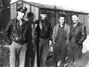My dad, Milton Hicks (center), 1944