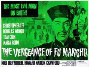 Vengeance of Fu Manchu-poster