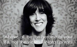 Nora Ephron-photo & quote