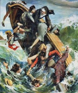 Walter Molino-capsized lifeboat '59