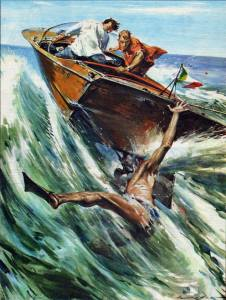 Walter Molino-guy hit by speedboat