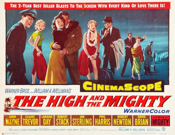High and the Mighty-'54 poster   Films etc.
